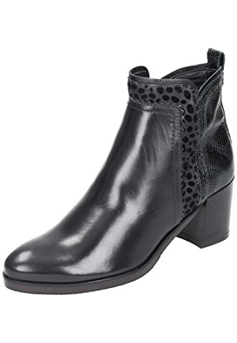 Bottines noir Maripé D'équitation gris femme Noir gUw78q6w