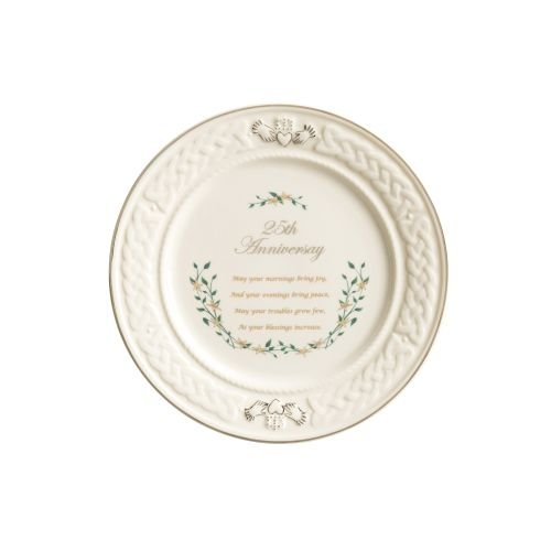 - Belleek 25th Anniversary Plate