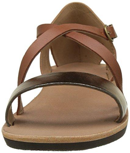 Kickers Spartame, Women's Ankle Strap Sandals Braun (Marron Bronze)