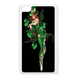 [H-DIY CASE] FOR IPod Touch 4th -Green Lucky Clover-CASE-19