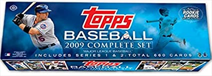Topps Mlb Baseball Cards 2009 Complete Factory Set 660 Cards Plus 10 Card Rookie Variation Pack