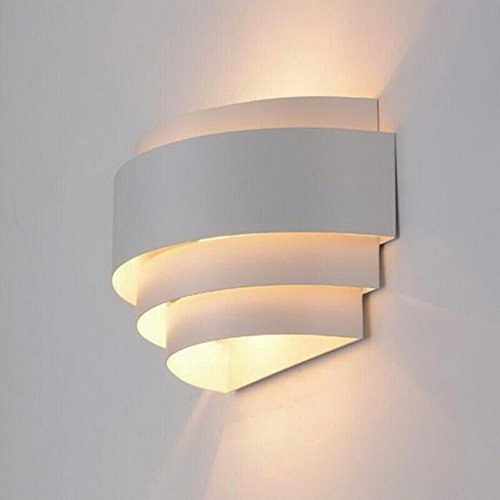 what is sconce lighting. LightInTheBox Modern/Contemporary Wall Sconces 1 Light Metal Shade Glass Decoration E26/E27 Bulb Base Painting Finish 110-120V White Color What Is Sconce Lighting