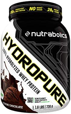 Nutrabolics Hydropure Extreme Chocolate 1.6lb 30 Servings