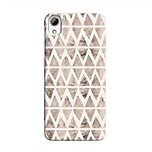 Cover It Up - Stone Triangles White Desire 826 Hard case