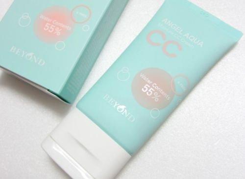 New Beyond Angel Aqua Water Moist CC Cream 45ml Korean Cosmetics