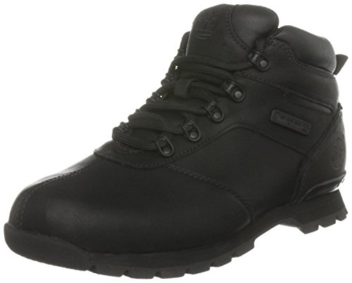 Timberland TB06665A001 Men's Skhigh Rock II Boot Black Smooth 9.5 M US