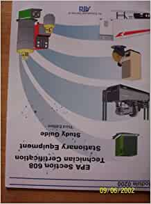 Epa Section 608 Certification Stationary Equipment Study