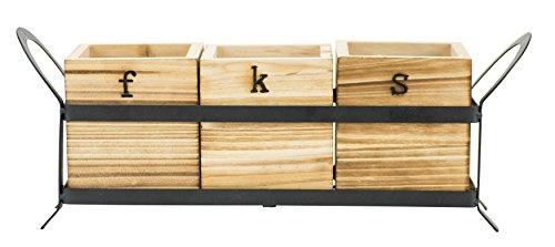 wood art caddy - 5