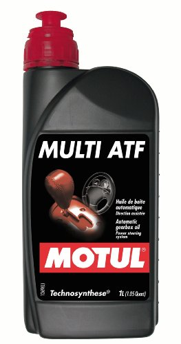 (Motul 844911-12PK Multi Technosynthese (ATF) Automatic Transmission Fluid with Slip Lockup Clutch, Power Steering, Torque Converters and Hydraulic Systems - 1 Liter, (Case Pack of 12))
