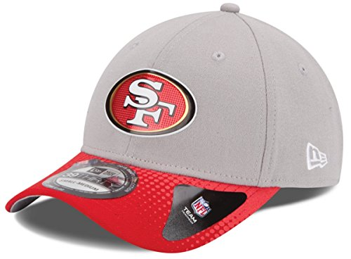New Era San Francisco 49ers 39THIRTY 2015 Official Draft Day Flex Fit Hat - Gray
