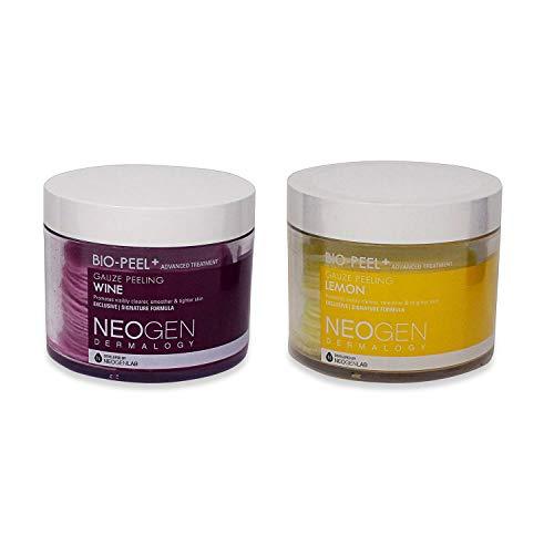 Bio Peel - [Neogen] Bio-Peel Gauze Peeling Wine and Lemon, 60 Count, 400 Milliliter