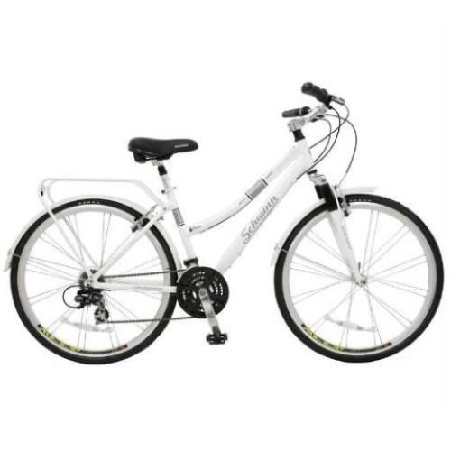 "Schwinn Discover Women's Hybrid Bike (700C Wheels),White,28"" Schwinn"