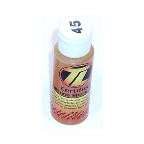 Losi Silicone - Team Losi LOSA5218, Silicone Shock Oil 45wt 2oz by Team Losi