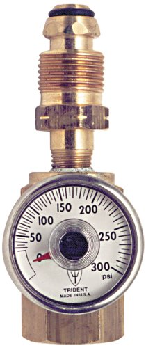 Trident Marine 1190-1411 L.P. Gas Leak Test Adapter, 300 PSI