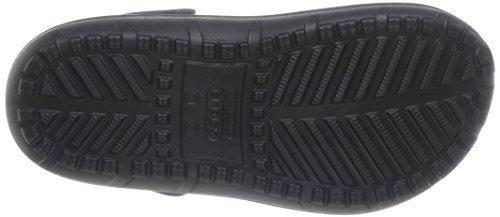 Schwarz Burst crocs Unisex Sabot Black Hilo U Lined Erwachsene BzT8Yxzr