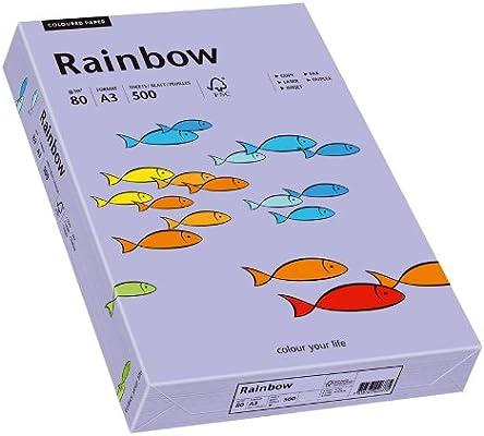 Papyrus 88042566 Rainbow - Papel (DIN A3, 80 g/m², 500 hojas), color violeta