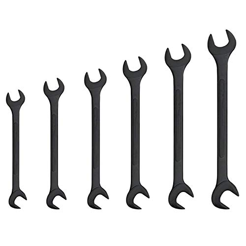 Neiko 03127A Black Oxide Jumbo Angle Wrench Set (6 Piece)