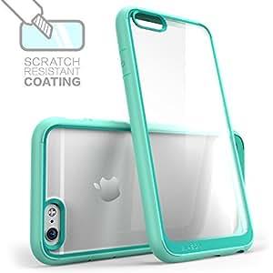 Caso del iPhone 6, i-Blason [resistente a ara?azos] de Apple Caso del iPhone 6 4.7 pulgadas h?brido Serie halo claro Caso / cubierta con TPU de parachoques para el iPhone 6 (Clear / Verde) Color: Claro / verde, modelo: i-Blason
