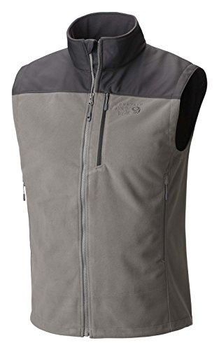 Mountain Hardwear Mountain Tech II Vest - Men's Titanium/Shark (Titanium Vest)