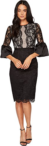 black lace dress london - 3