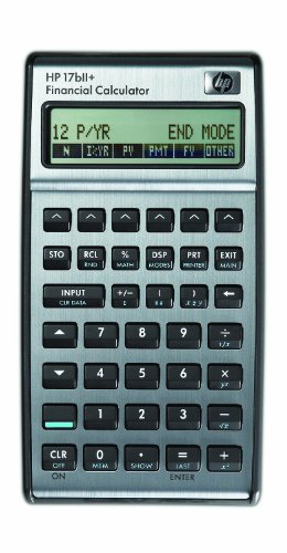 17bII Financial Calculator 22-Digit LCD 17bII Financial Calculator, 22-Digit LCD by HP Consumer