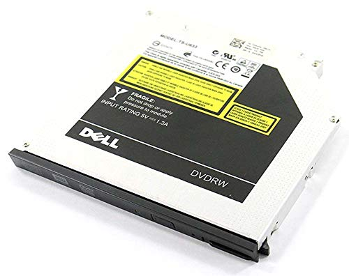 (Genuine Dell Slimline Slim CD/RW DVD/RW CD/DVD ± RW SATA Burner Internal Optical Drive For Latitude E6410, E6400, E6500, E6510 and Precision Mobile WorkStation M2400, M4400 Systems. Compatible Part Numbers: XX243, N245K, DU-8A2S, DU-8A3S, F040J, V42F8, 53T72)