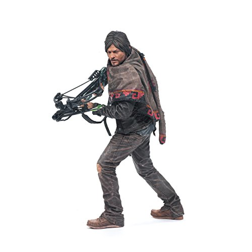 "McFarlane Toys The Walking Dead TV Daryl Dixon 10"" Deluxe Ac"