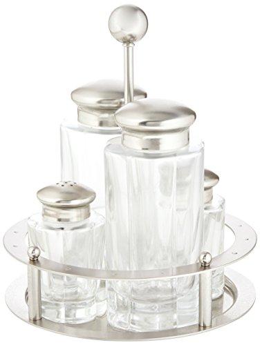 Alessi MG05 Oil, Vinegar, Salt, Pepper Set, ()