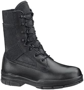 "Bates Womens DuraShocks 8"" Navy Seal Steel Toe Boot"