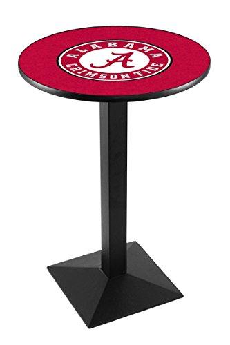 Holland Bar Stool L217B University Alabama (Script A) Logo Licensed Pub Table, 28