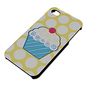 Tasty Cupcake Slim Fit Hard Case Fits Apple iPhone 4 4S