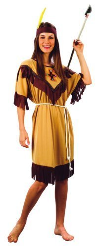Indian Lady Costume Adult by Bistol Novelty
