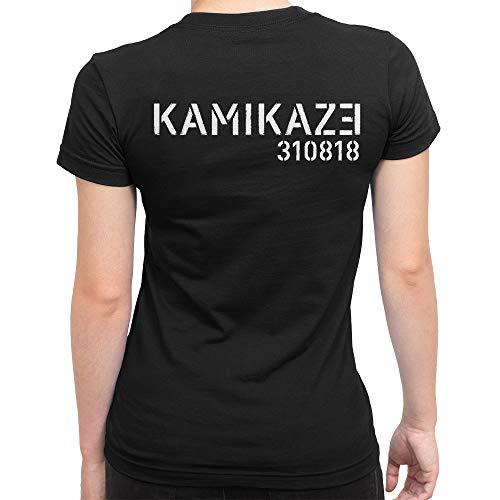 Eminem Kamikaze T-Shirt, Hip Hop Tee, Men's Women's (XL - Female) by Shirt Happens
