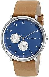 Skagen Men's SKW6167 Hald Analog Display Analog Quartz Brown Watch
