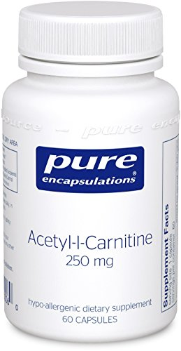 Pure Encapsulations Acetyl l Carnitine Hypoallergenic Supplement