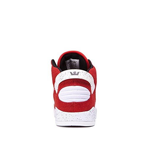 Supra Skytop III Shoes - Red / White Speckle UK 7