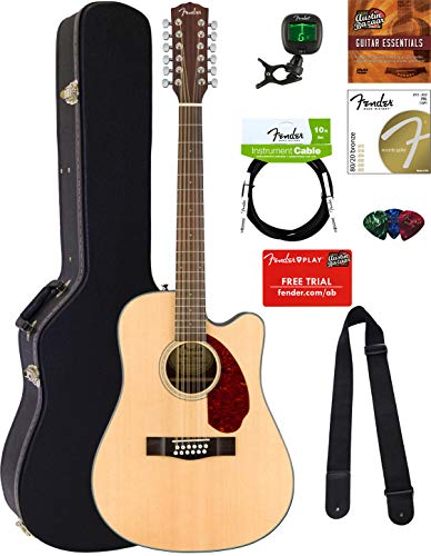 Fender CD-140SCE-12 Dreadnought Acoustic-Electric Guitar