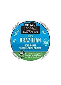 Brown Gold, 100% Brazilian Coffee, 48 Single Serve RealCups