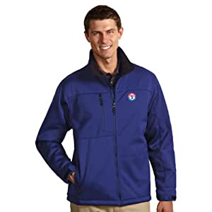 MLB Texas Rangers Men's Traverse Jacket, Dark Royal, Large