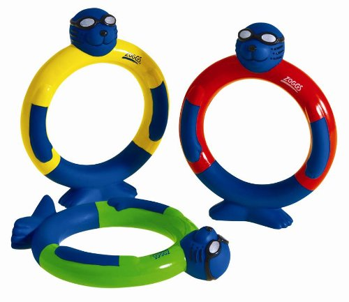 Zoggy Swimming Pool Toys Dive Rings Pack of 3