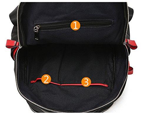 La nuova signora di tendenza ha colpito il sacchetto di spalla del panno di Oxford / sacchetto casuale selvaggio di modo coreano / zaino / borsa