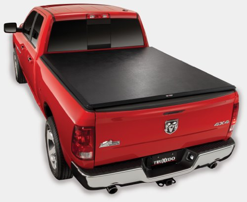 (2009 - 2014 Dodge Ram 1500 2500 3500 6.4' Bed TruXedo TruXport Soft Roll-Up Tonneau Cover)