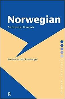 Book Norwegian: An Essential Grammar (Routledge Essential Grammars)