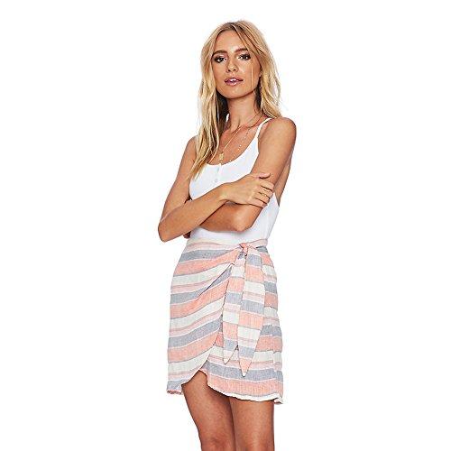 Beach-Riot-Womens-Lexi-Wrap-Skirt-Pink-Stripe-Small