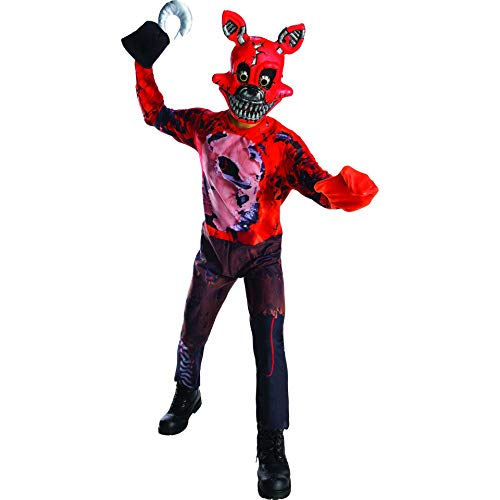 Rubie's Costume Boys Five Nights at Freddy's Nightmare Foxy The Pirate Costume, Medium, Multicolor -