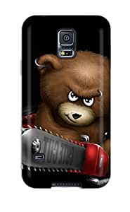 For Galaxy Case High Quality Funnys Angry Bear For Galaxy S5 Cover Cases