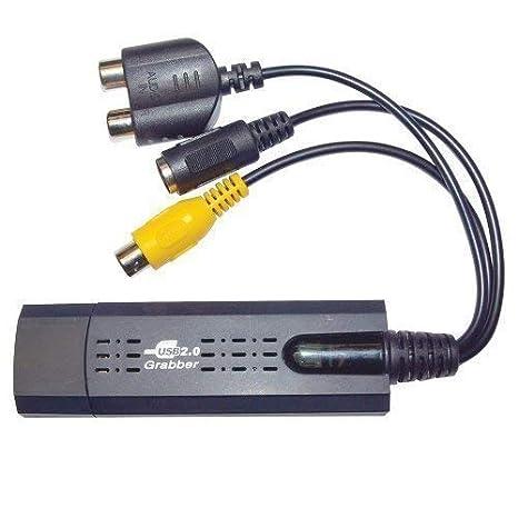 Amazon.com: Dispositivo USB Video Grabber Grabar vídeos al ...