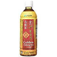Ito En Golden Oolong Tea, Unsweetened, 16.9 Fluid Ounce (Pack of 12), Zero Calories, Antioxidant Rich, Brewed with Whole Leaf Tea, Caffeinated, High in Vitamin C