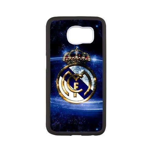 Real Madrid 2 Custom Phone Cases Design for Samsung Galaxy S6 covers with Balck Laser Technology