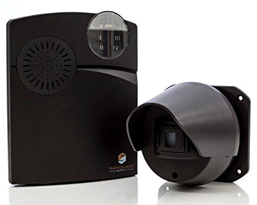 - Driveway Alarm - Wireless Driveway Alarm - Long Range 1000 Foot Completely Wireless Driveway Alarm System with Weatherproof Driveway Alarm Sensor & Flashing Chime Receiver